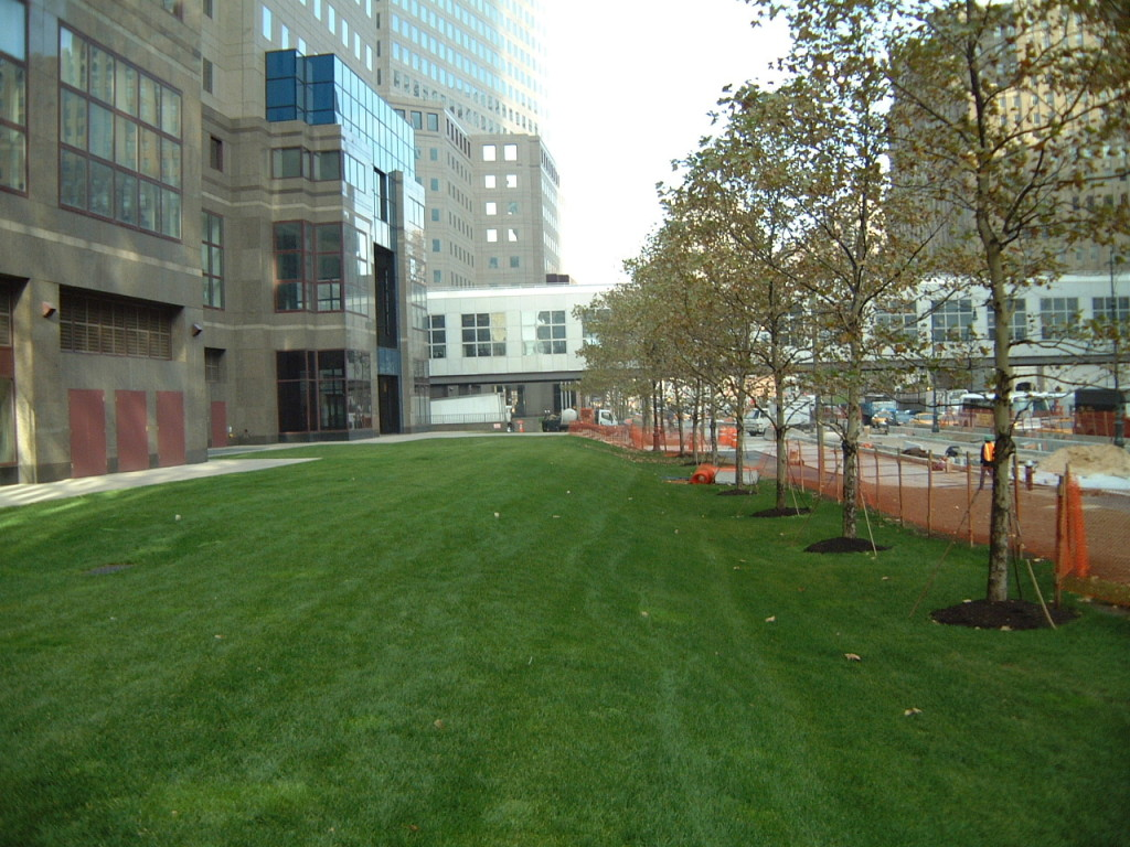 John Chatterton Battery Park NYC job site before construction 911